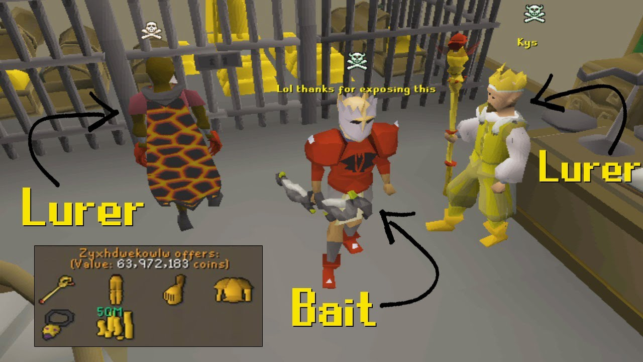 I Went Undercover as Bait To Expose RuneScape Luring Tricks