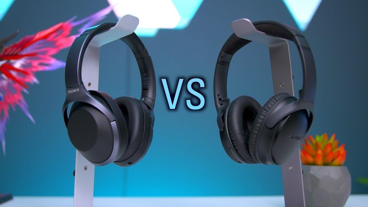 10f7f91b80f The Most Advanced Headphones? Bose VS Sony! - YouTube