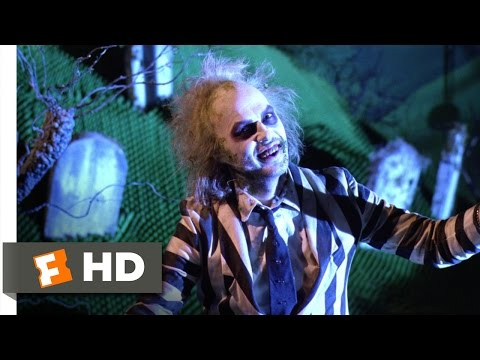 It's time!  Beetlejuice 89 Movie  1988 HD