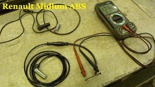 Ремонт ABS Renault Midlum ABS Repair