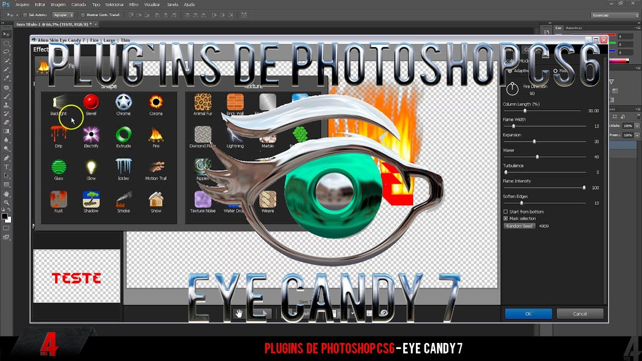 eye candy plugin for after effects