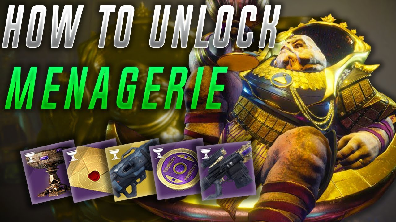 Download Destiny 2 How to unlock the Menagerie
