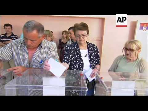 Polling stations open and first voters vote in Serbian election