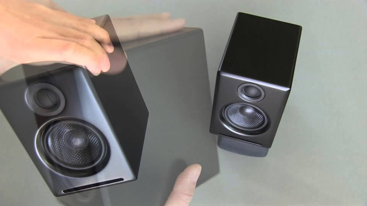 A2 premium powered desktop speakers youtube - A2 Premium Powered Desktop Speakers Youtube 1