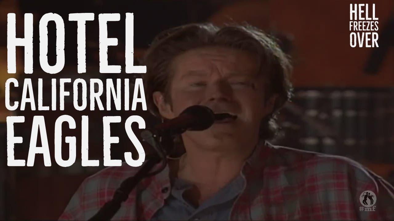 youtube eagles hotel california live 1994