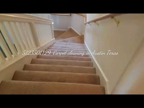Air BnB home carpet cleaning in Round Rock Texas.