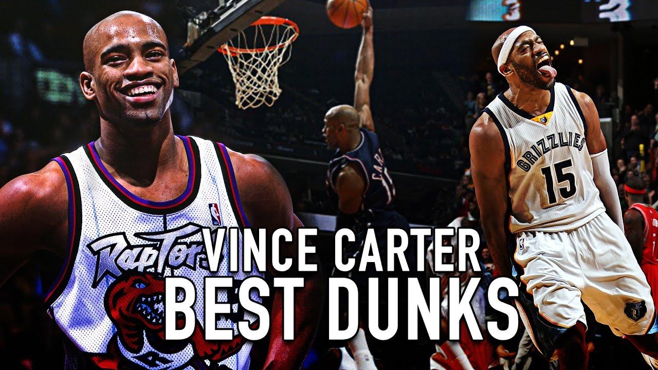 8b07b693ea0 Vince Carter BEST Dunk Each Year In The NBA! (1999-2016) - YouTube