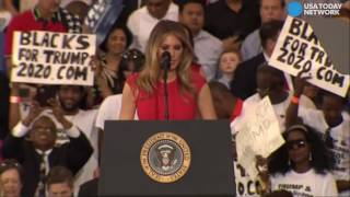 Melania Trump says the Lord