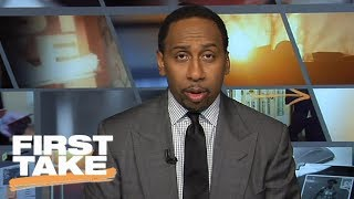 Stephen A. Smith: Lonzo Ball should be worried about John Wall and Wizards | First Take | ESPN