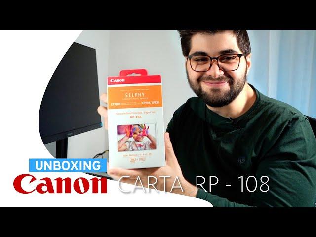 Parliamo della Carta Fotografica Canon RP-108 e KP-108IN