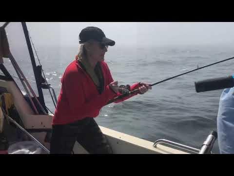 Salmon fishing outside Grays Harbor bar