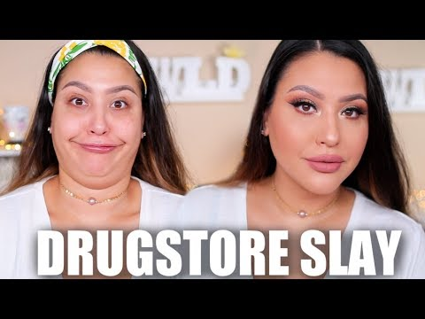 TRYING NEW DRUGSTORE MAKEUP: SO MANY FINDS!