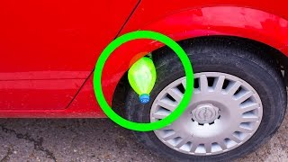 If You See a Bottle on Your Tire, Don't Touch It And Call the Police!