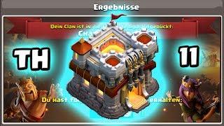 Clankriegs Liga Rathaus 11 Dorf   Dark Looters Base   RH 11 Base   Clash of Clans deutsch