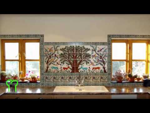 NEW Kitchen Tile Backsplash Designs Kitchen Backsplash Tile Designs Ideas  2017 Part 95