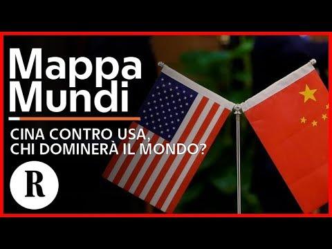 Cina contro Usa, chi dominerà il mondo? - Mappa Mundi