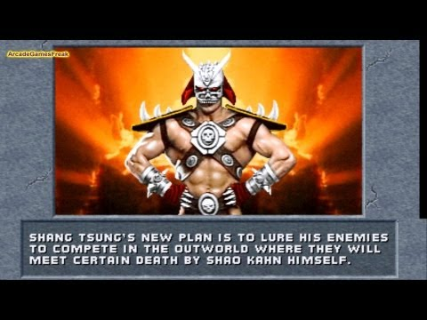 Mortal Kombat 2 Intro All Characters Prologues and Endings