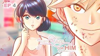 JUST MAID FOR HIM - Episode 4 - Miraculous Ladybug AU Comic Dub | Valory Pierce