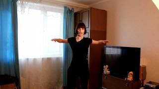 Упражнения для мышц груди без гантелей(Упражнения для придания тонуса мышцам груди. Упражнения с гантелями смотрите на сайте http://www.furor-dance.ru/, 2011-03-27T15:30:36.000Z)