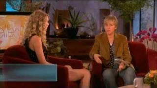 Taylor Swift Fearless Release Interview on Ellen 11/11/08 Part 1