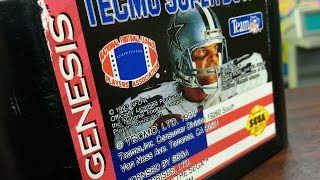 Classic Game Room - TECMO SUPER BOWL review for Sega Genesis