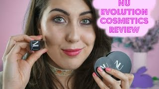 ONE BRAND TUTORIAL: NU EVOLUTION COSMETICS // The Green Bunny
