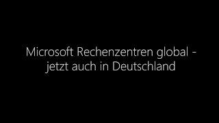 Microsoft Cloud Deutschland: Datenspeicherung in Deutschland