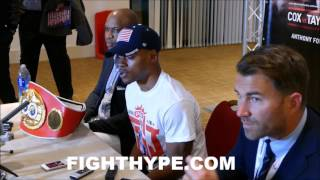ERROL SPENCE JR. FULL POST-FIGHT PRESS CONFERENCE AFTER KNOCKING OUT KELL BROOK