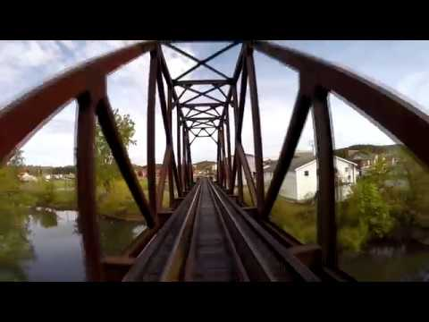 Durbin & Greenbrier Valley's New Tygart Flyer - GoPro