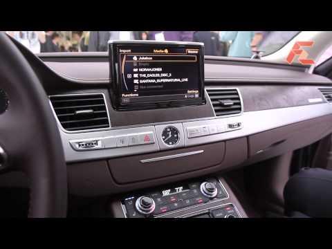 Audi A8 Multi-Media Interface (MMI)