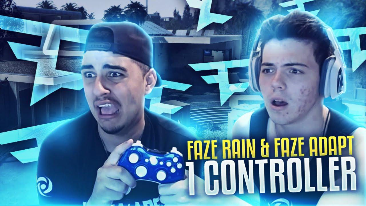 FAZE RAIN & FAZE ADAPT - 1 CONTROLLER - YouTube