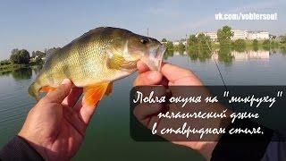 Ловля окуня на спиннинг. Пелагический джиг. Видео отчет от 28.06.2015
