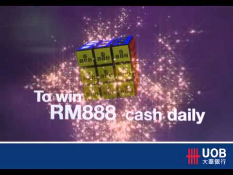 "UOB Cards ""888"" TV promo"