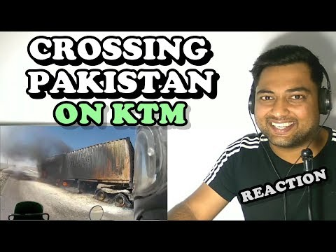 Crossing Pakistan on KTM | Adventure Trip | Travel Vlog Reaction