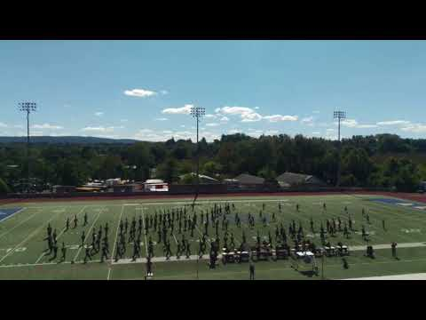 Millersville University Marching Band @ Collegiate Marching Band Festival10-1-17