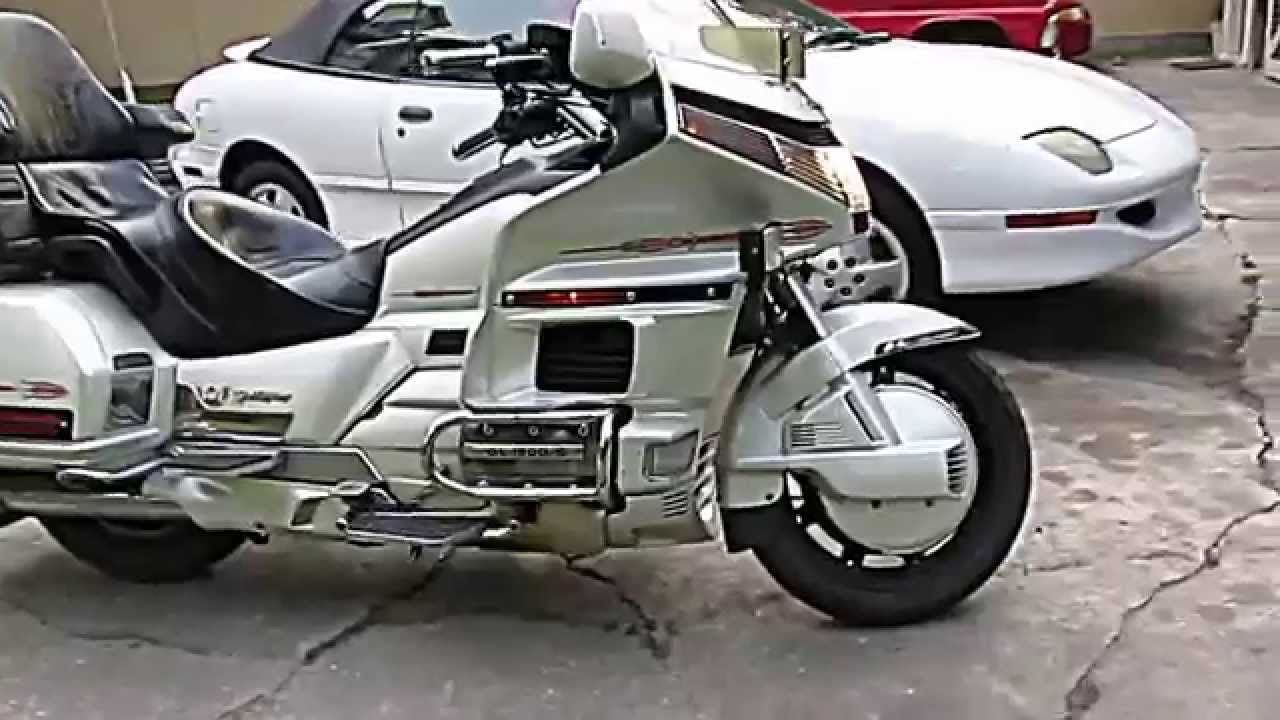 Honda Of Houston >> 1989 HONDA Goldwing GL1500 Aspencade javier - YouTube