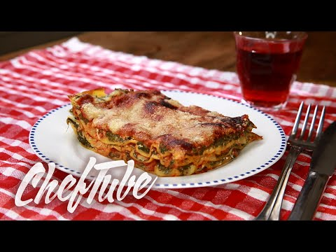 How to Make Spinach Lasagna Recipe in description