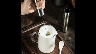 USB 충전 우유 커피 거품기 스팀기 핸드믹서 홈카페
