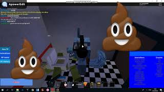 Mantis channel into the toilet!!  ROBLOX