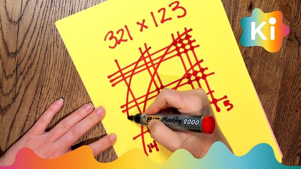 Hvordan gange for hånd - genialt mattetriks
