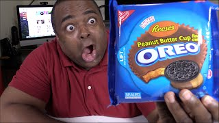 Gambar cover REESE'S PEANUT BUTTER CUP OREO TASTE TEST!