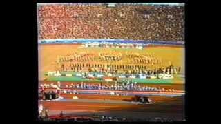 UH Cougar Band 1983 - Mirage Bowl Halftime - Tokyo, Japan