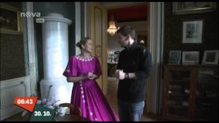 Snídaně s Novou - pozvánka na zámek Loučeň