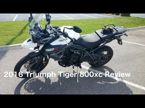 2016 Triumph Tiger 800xc Review
