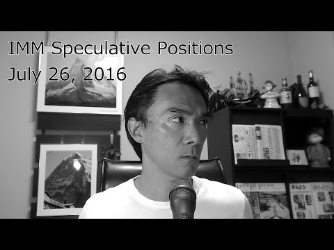 2016 07 26 IMM Speculative Positions in the Future Markets