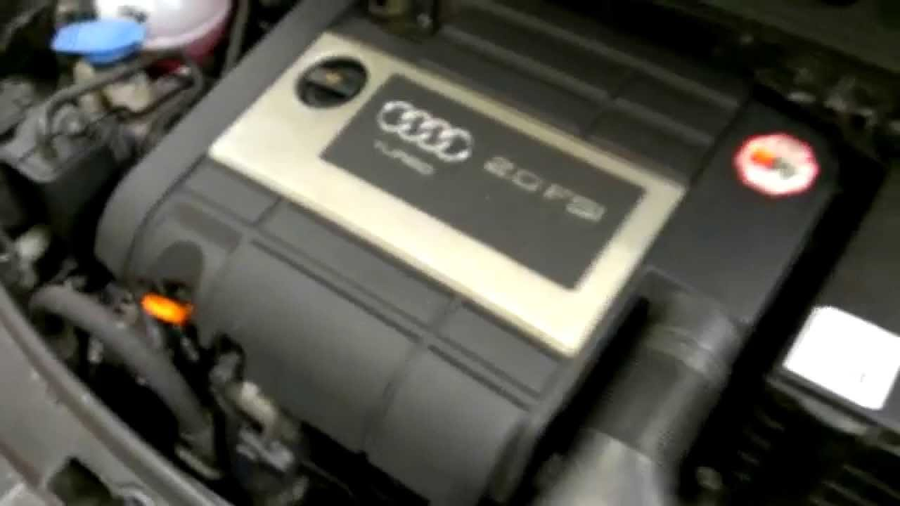 How To Change A Water Pump >> Audi A3 2.0Tfsi after camshaft chain change - YouTube
