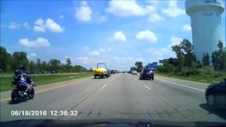 Motorcycle Accident MN I 94 East Bound 6/18/2016 by : Linda L