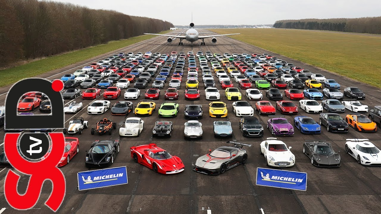 Super Car Racing >> Is This The Greatest Supercar Meet Of All Time