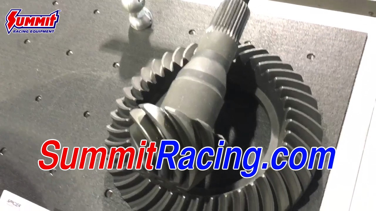 Dana Spicer Driveshaft and Gear Ratio for the 2015 Ford Mustang - SEMA 2016
