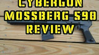 cybergun mossberg 590 pistol grip shotgun review